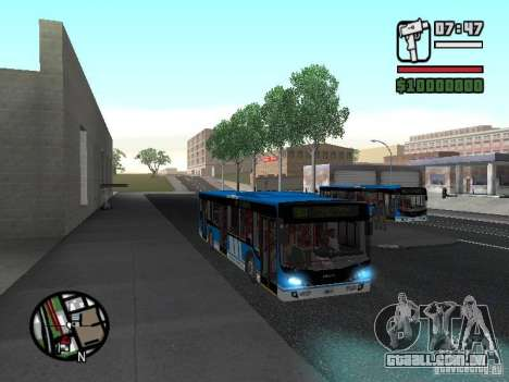 Design-X4-Dreamer para GTA San Andreas vista interior