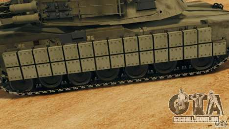 M1A2 Abrams para GTA 4 motor