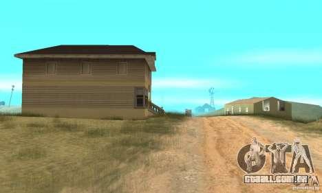 Área no deserto para GTA San Andreas terceira tela