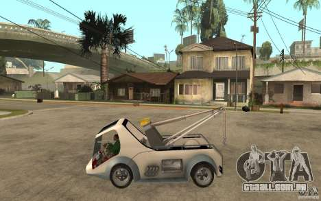 Lil Redd Wrecker para GTA San Andreas esquerda vista