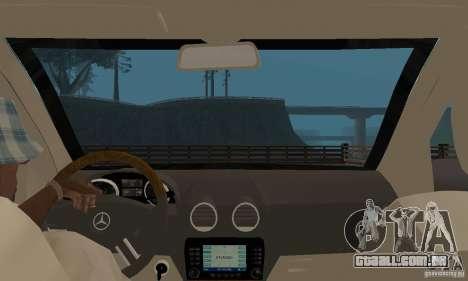 Mercedes-Benz GL500 para GTA San Andreas vista traseira