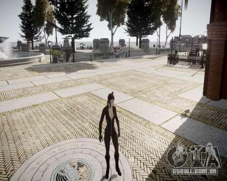 Catwoman v2.0 para GTA 4 por diante tela