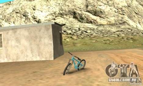 Dirt Jump Bike para GTA San Andreas esquerda vista