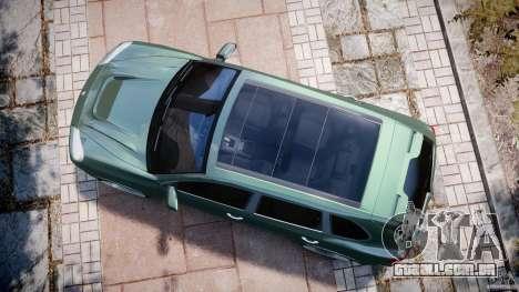 Porsche Cayenne Turbo S 2009 Tuning para GTA 4 vista direita