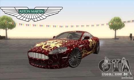 Aston Martin DB9 Female Edition para GTA San Andreas