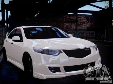 Honda Accord Mugen para GTA 4 vista lateral
