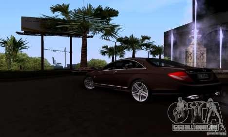 Mercedes-Benz CL65 AMG E.U. para GTA San Andreas esquerda vista
