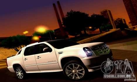 Cadillac Escalade Ext para GTA San Andreas vista direita