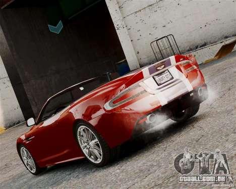 Aston Martin DBS Volante 2010 v1.5 Bonus Version para GTA 4 vista direita