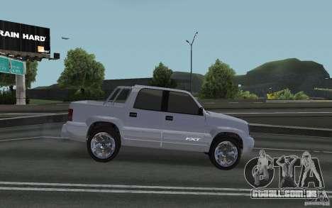 Cavalgada FXT do GTA 4 para GTA San Andreas traseira esquerda vista