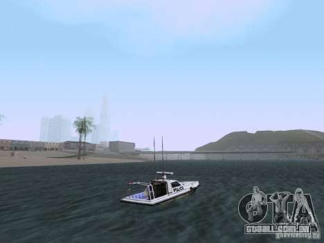 NEW Predator para GTA San Andreas vista direita