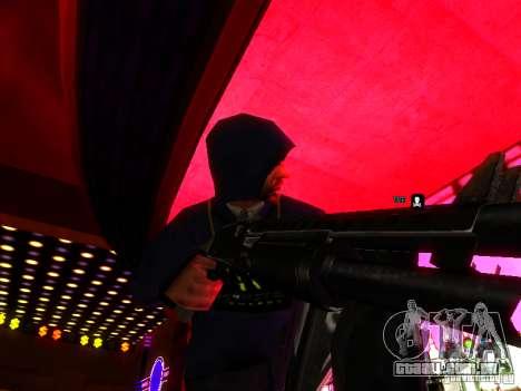 New Weapons para GTA San Andreas terceira tela