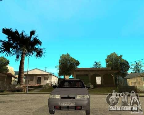 VAZ 2111 para GTA San Andreas vista traseira