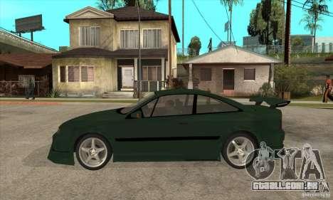 Opel Calibra para GTA San Andreas esquerda vista