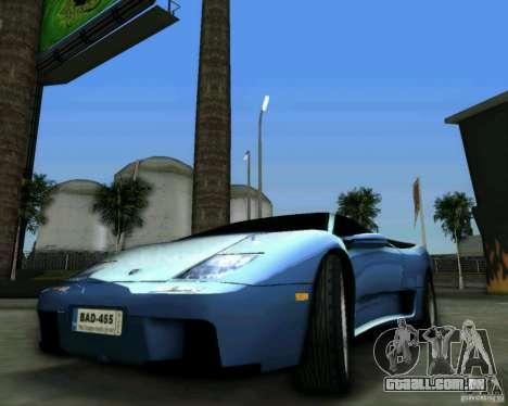 Lamborghini Diablo para GTA Vice City vista direita