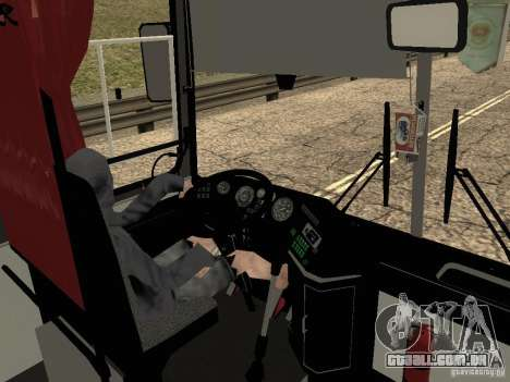 Ikarus Z50 para GTA San Andreas vista superior