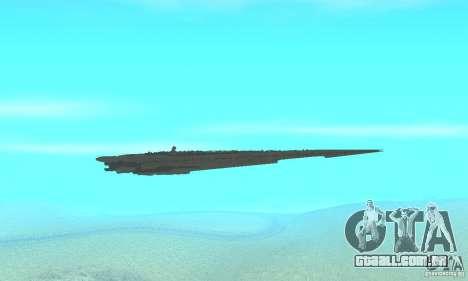 Executor Class Stardestroyer para GTA San Andreas vista interior