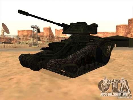 Tanque do jogo TimeShift para GTA San Andreas