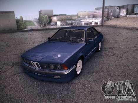 BMW E24 M635CSi 1984 para GTA San Andreas vista direita