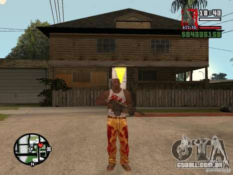 BulletStorm M4 para GTA San Andreas segunda tela