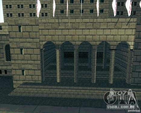Los Santos City Hall para GTA San Andreas terceira tela