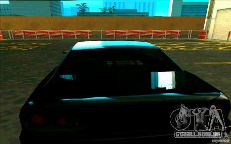 Enbseries qualitativa para GTA San Andreas segunda tela