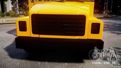 School Bus [Beta] para GTA 4 vista lateral