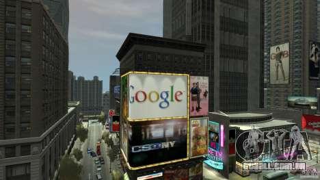Time Square Mod para GTA 4 sexto tela