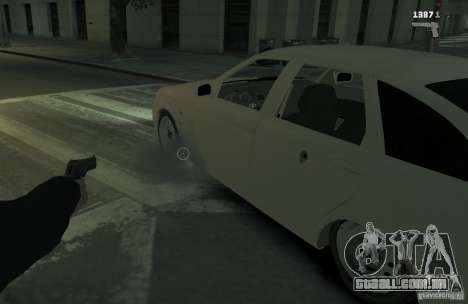 VAZ Lada Priora 2172 para GTA 4 vista direita