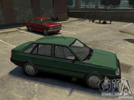 FSO Polonez para GTA 4 vista inferior