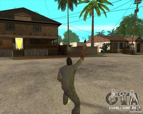 Gta IV weapon anims para GTA San Andreas terceira tela