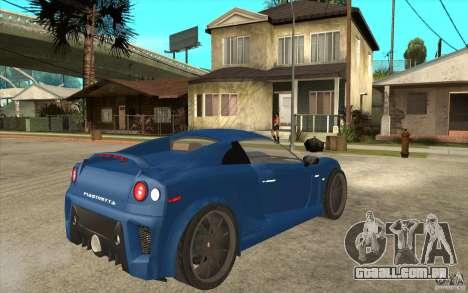 Mastretta MXT v1.1 para GTA San Andreas vista direita