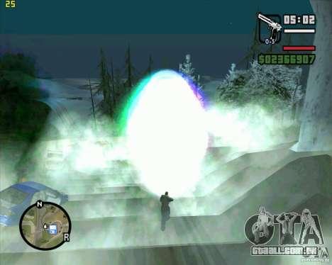 Masterspark para GTA San Andreas segunda tela
