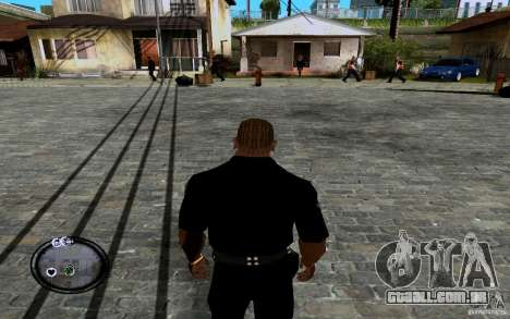CJ novo para GTA San Andreas terceira tela