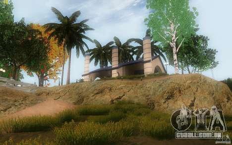 New Country Villa para GTA San Andreas sétima tela