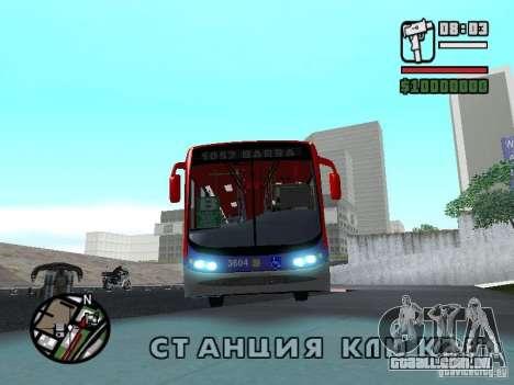 Busscar Urbanuss Pluss VW 17-230 EOD Alongado para GTA San Andreas esquerda vista