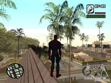 Spider Man From Movie para GTA San Andreas sétima tela
