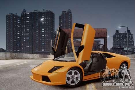 Lamborghini Murcielago para GTA 4 vista interior