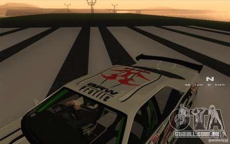 Nissan Skyline ER34 D1GP Blitz para GTA San Andreas vista direita