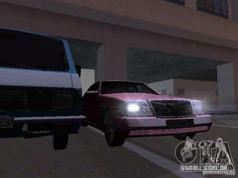 Mercedes-Benz S600 W140 v 2.0 para GTA San Andreas interior