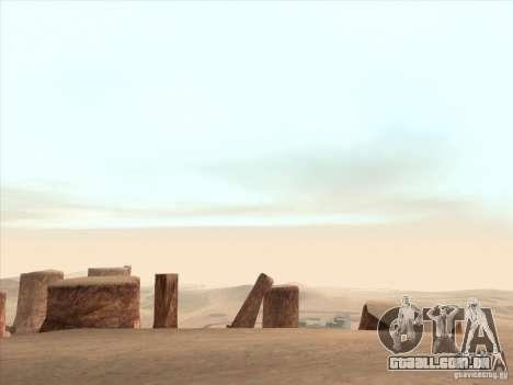 Um realista Timecyc para GTA San Andreas quinto tela