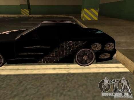 2-vinil para elegia por Drago para GTA San Andreas esquerda vista