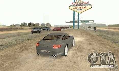 Porsche Carrera S 2009 para GTA San Andreas esquerda vista