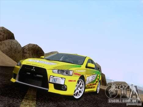 Downhill Drift para GTA San Andreas sexta tela