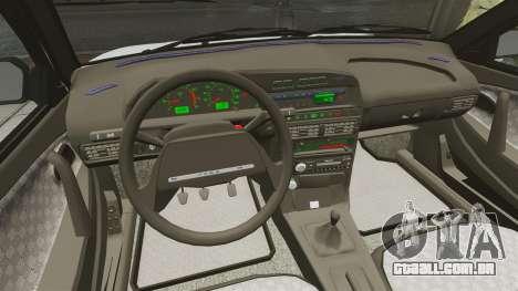 Dreno Vaz-2114 para GTA 4 vista lateral