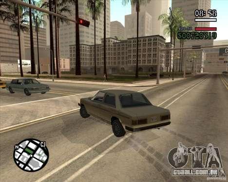 Nova gestão pragmática para GTA San Andreas segunda tela