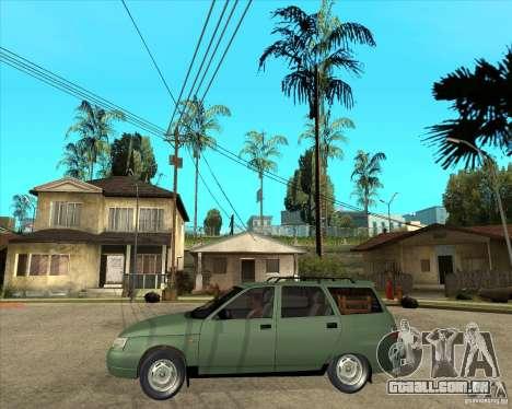 VAZ 2111 para vista lateral GTA San Andreas
