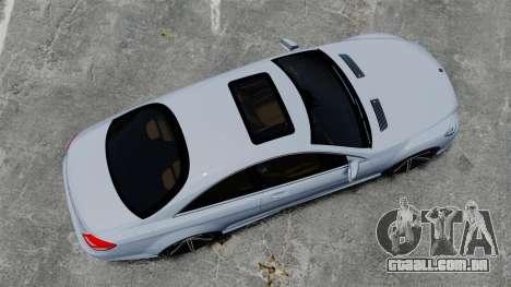 Mercedes-Benz CL65 AMG v1.1 para GTA 4 vista direita