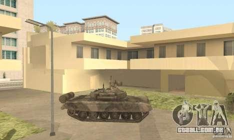 T-90A para GTA San Andreas esquerda vista