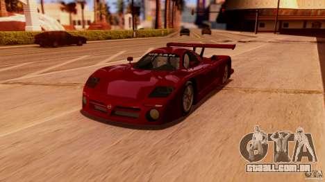 Nissan R390 GT1 98 v1.0.3 para GTA San Andreas